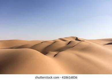 Liwa desert. Abu Dhabi, United Arab Emirates. 19/FEB/2016