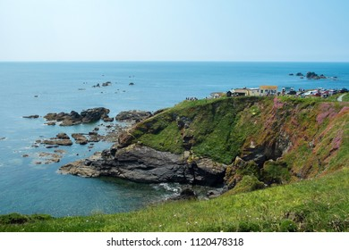 Lizard Point in Cornwall - the most southerly place in Britain.