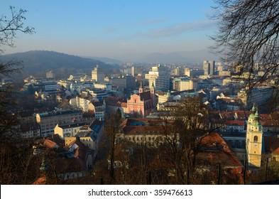 Ljubljana - Panorama