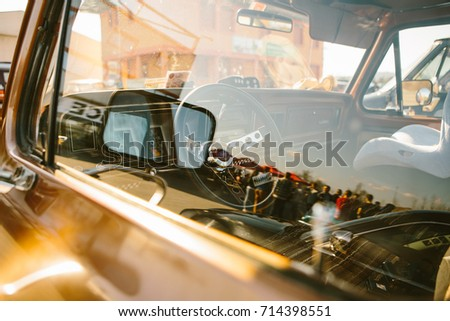 74807f6197 Ljubljana Slovenia 2015 American Car Show Stock Photo (Edit Now ...