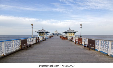 Llandudno Pier is a Grade II* listed pier in the seaside resort of Llandudno, North Wales, United Kingdom. At 2,295 feet, the pier is the longest in Wales