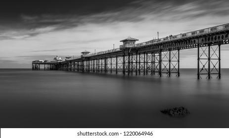 Llandudno Pier in Wales, United Kingdom