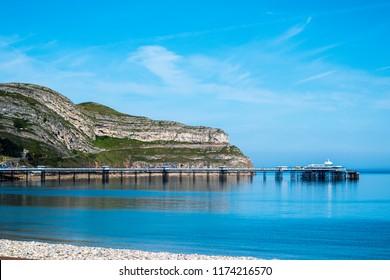 Llandudno Scenery Sea
