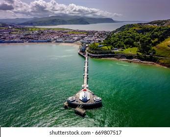 Llanduno Pier Wales