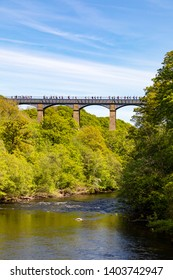 LlangollenDengighshireWalesMay 14, 2019The Pontcysyllte aquaduct as it carries the Llangollen Canal over the river Dee