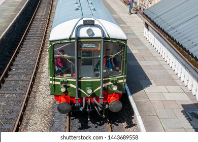 Llangollen railway line june 2019 birmingham international train