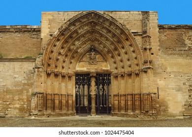 Lleida, Lerida, spain, Katalonien, La Seu Vella, church
