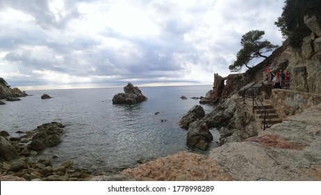 Lloret de Mar, Costa Brava in Catalonia, Spain