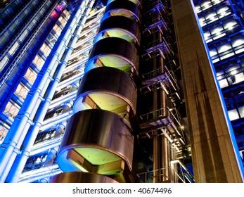 Lloyds Building in London UK
