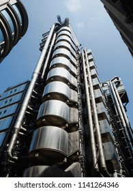 Lloyds Building in the Square Mile of London