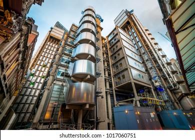Lloyds Of London. London, England, UK