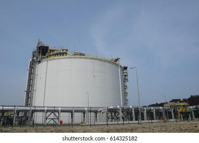 The LNG terminal in Swinoujscie, Poland.