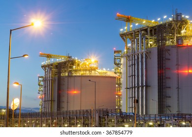 The LNG terminal in Swinoujscie,Poland