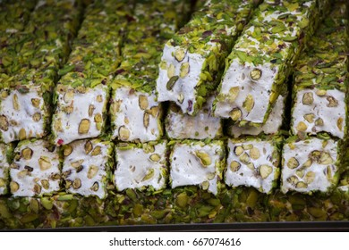 Load of traditional Turkish delight