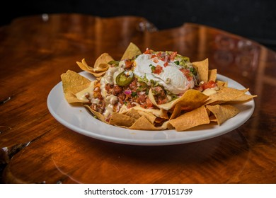 Loaded nachos are the perfect snack