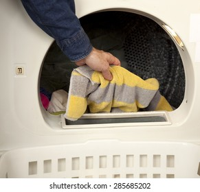 Loading the Clothes Dryer