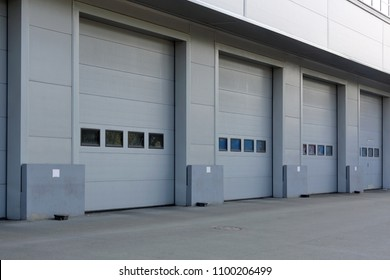 Loading Dock Doors in Cold Distribution Warehouse