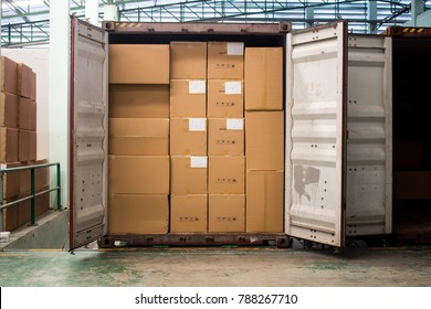 Loading and unloading Out of container