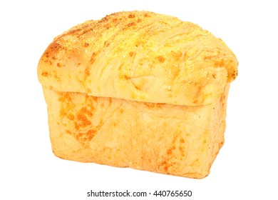 loaf of bread baking delicious isolated