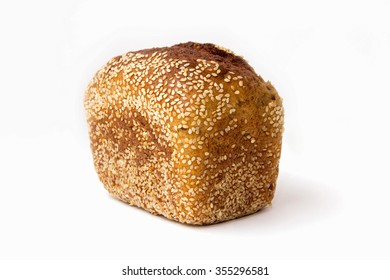 loaf of bread with sesame