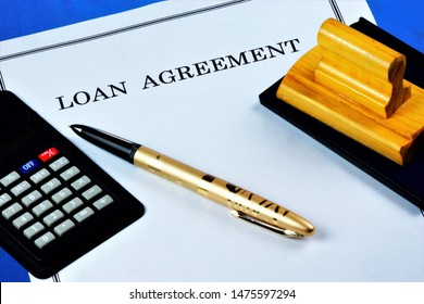 Loan agreement between the lender and the borrower. The Bank or credit institution provides funds to the borrower under the contract, the borrower returns the amount of money and pays interest.