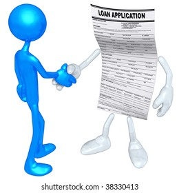 Loan Application Handshake