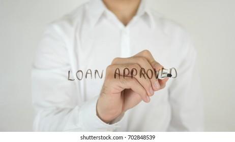Loan Approved, Written on Glass