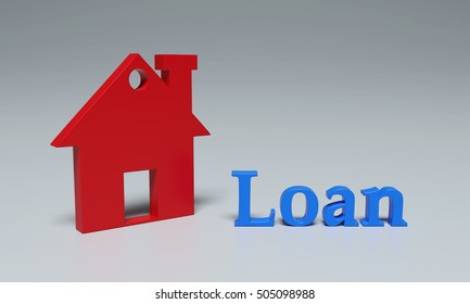 Loan Concept - 3D Rendering Image