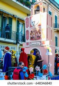 LOANO, ITALY - CIRCA MARCH 2016: High dynamic range (HDR) Carnival celebrations in Loano aka CarnevaLoa