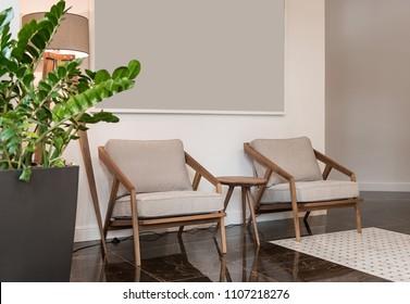 Lobby room interior