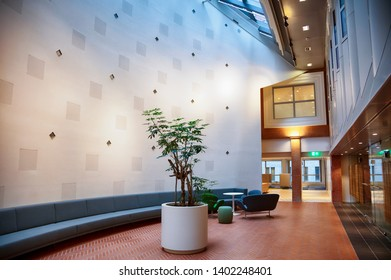 lobby space and entrance  in business office, the Hague
