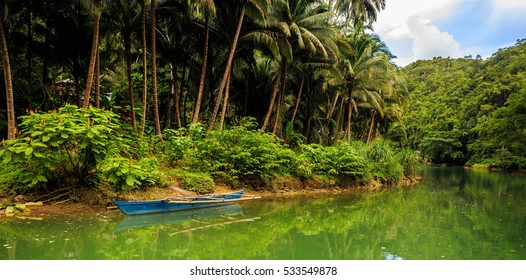 Loboc river. Phillipines, Bohol.