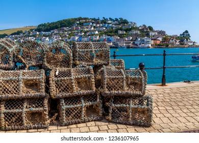 Lobster Pots Dartmouth Devon