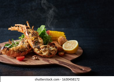 Lobster Thermidor - creamy and nutty lobster