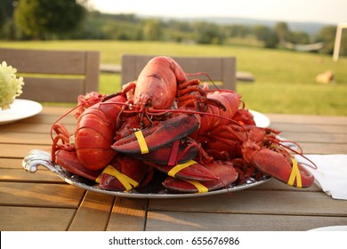 lobsters for dinner