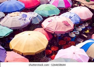 A Local African market in Nigeria