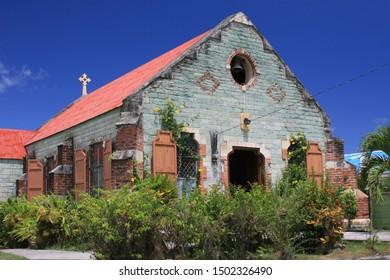 Local church, Antigua, Caribbean, West Indies