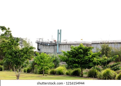 Local council operated water treatment works in an Australian city
