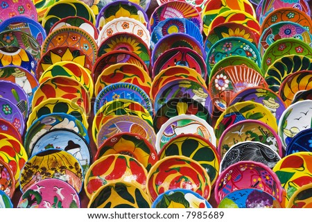 local crafts souvenirs cancun mexico stock photo edit now 7985689