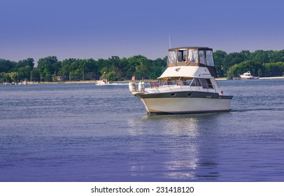 Local Detroit area marina gateway to Lake Erie
