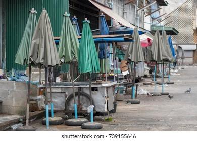 local dirty thai market