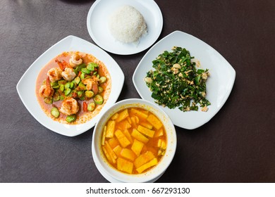 local food in Southern part of Thailand, very spicy and delicious asian taste