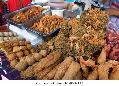local fried street food