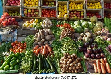 Local  market  at  northern  Pakistan