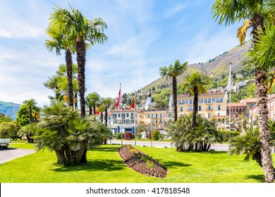 Locarno is located on the northern shore of Lake Maggiore of Switzerland.