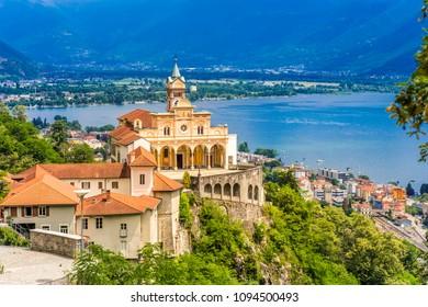 Locarno, Madonna del Sasso, Lago Maggiore