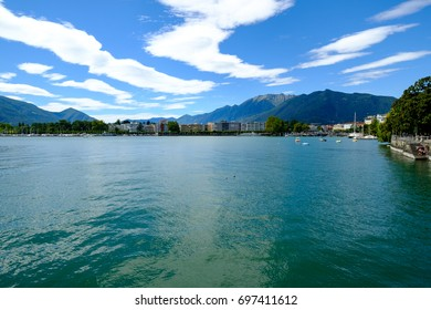 Locarno, Switzerland. Lake Views Series