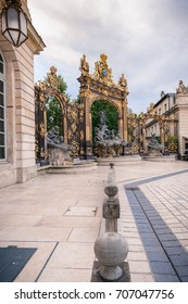 Located in the center of Nancy. The square is part of Unesco World Heritage and was developed in the eighteenth century. It has monument to golden gates and exceptional beautiful buildings.