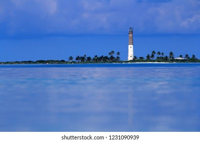 Located in Dry Tortugas National Park, around seventy miles west of Key West, Loggerhead Lighthouse is considered one of the most isolated lighthouses in the United States