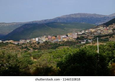 location details in Sardinia, Italy